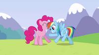 Pinkie Pie releases Rainbow S3E7