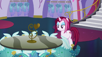 Posh Pony looking at Princess Dresses S5E14