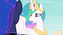 Princess Celestia -I thought if we worked together...!- S7E10
