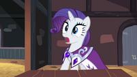 Princess Platinum stands shocked S2E11