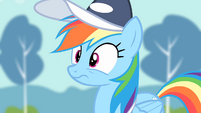 Rainbow Dash's reaction to the second rehearsal S4E05