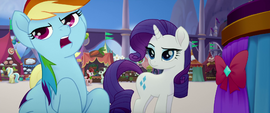"Rainbow Dash ""fabulous takes forever!"" MLPTM"