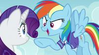 """Rainbow Dash """"new and super-intense!"""" S8E17"""