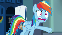 Rainbow Dash -how do you even compare- S7E7