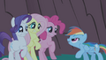 Rainbow Dash about to scare friends S1E02.png