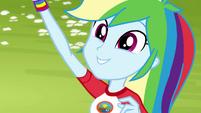 "Rainbow Dash calls out ""tetherball!"" EG4"