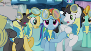 Rainbow Dash rough excuse me 9