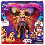 Rainbow Rocks Sunset Shimmer Time to Shine doll packaging