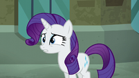"Rarity surprised ""what?"" S5E16"