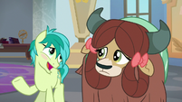 "Sandbar ""want to be my pony pal?"" S9E7"