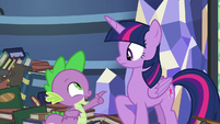 Spike -because you raised me- S8E24
