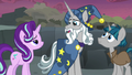 Star Swirl chuckling with embarrassment S7E26.png