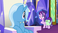 Starlight asks about the last place Trixie thought of S7E2