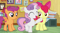 Sweetie Belle -you have the CMC guarantee!- S7E6