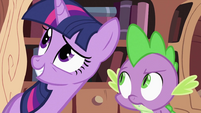 Twilight Sparkle asking Spike 2 S2E03