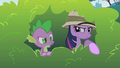 Twilight spies on Pinkie Pie S1E15.png