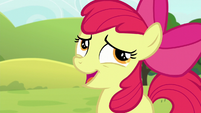 Apple Bloom laughing nervously S5E17