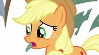 "Applejack ""applesauce it is"" S9E7"