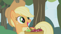 "Applejack ""what you wanna talk about?"" S1E04"