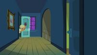 Applejack looking out her door S2E06