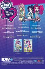 Canterlot High March Radness credits page