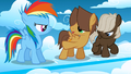 Colt Hoops pointing at filly Rainbow S1E23.png