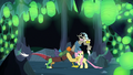 Discord stops himself from freeing Fluttershy S6E26.png