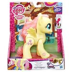 Explore Equestria Action Friends Fluttershy packaging