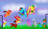 FANMADE Pony soccer game