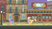 Filly Applejack Manehattan streets S1E23