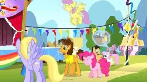 Finnish My Little Pony Pinkie The Party Planner Song - Reprise HD