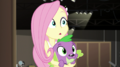 Fluttershy looking puzzled at her friends EGS2.png
