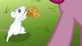 Mouse offering cheese to Pinkie clone S3E3.png