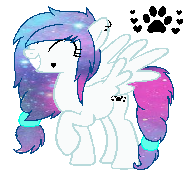 My Little Pony Base Happy Pegasus By Drugzrbad