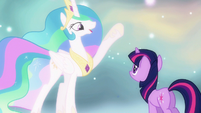 Princess Celestia to find S3E13
