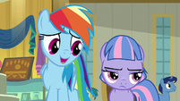 """Rainbow """"wanted to skip the museum, too"""" S9E6"""