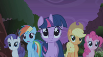 "Rainbow Dash ""little?"" S1E02"