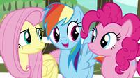 Rainbow Dash --all we need is a unicorn-- S6E18
