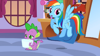 Rainbow Dash Uh Oh S3E11