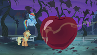 Rainbow Dash fanning the scent S4E07