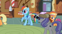 Rainbow Dash wide eyes S2E8