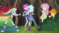 Rainbow brings Lyra and Sweetie Drops to safety EG4.png