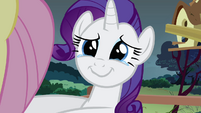 Rarity crying in joy S2E19