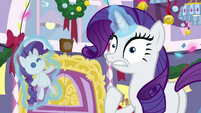 Rarity interrupted by the P.A. system BGES3