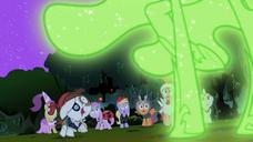 S02E04 Wizja Nightmare Moon przed źrebakami