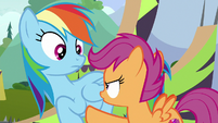 "Scootaloo ""I wasn't asking you!"" S8E20"