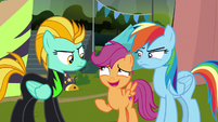 "Scootaloo ""you two really know each other?"" S8E20"