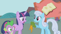 Shoeshine offers Twilight Sparkle carrots S1E03