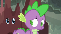 Spike looking sad S6E5