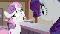 "Sweetie Belle ""uh... yeah..."" S7E6"